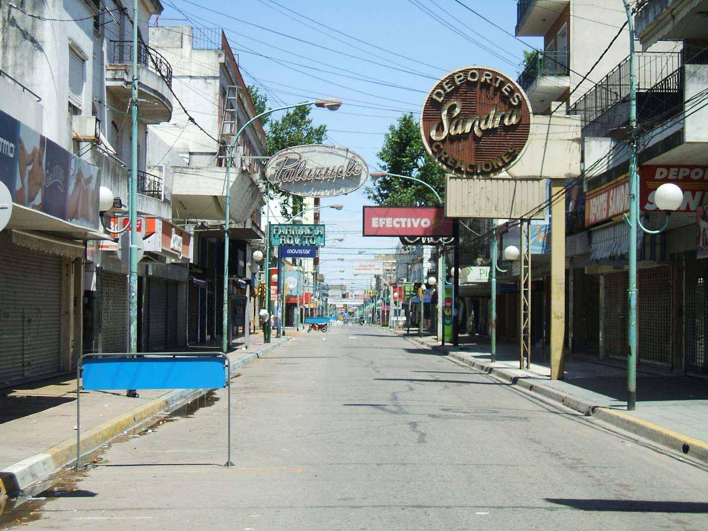 Corte de calle en Justa Lima por inicio de obra