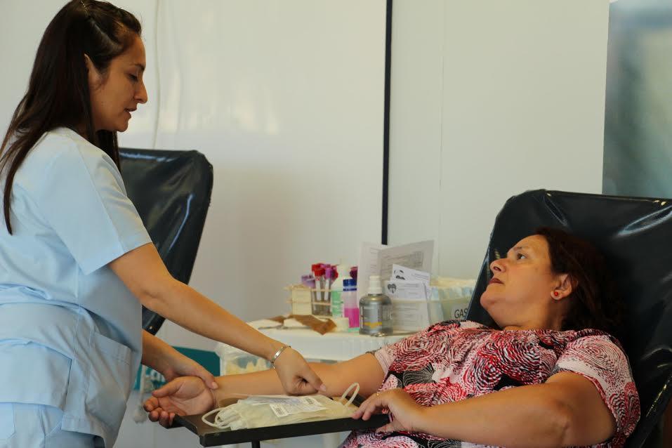 Se realiza una nueva campaña de donación de sangre para el Hospital Garrahan