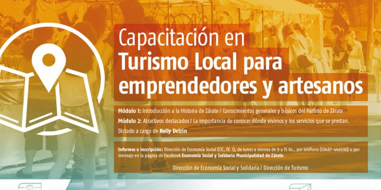 Comienza el miércoles la Capacitación en Turismo Local