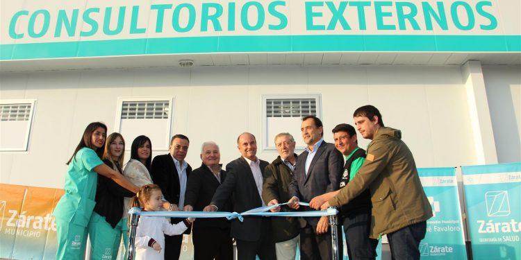 Se inauguraron los nuevos consultorios del Hospital Intermedio Municipal