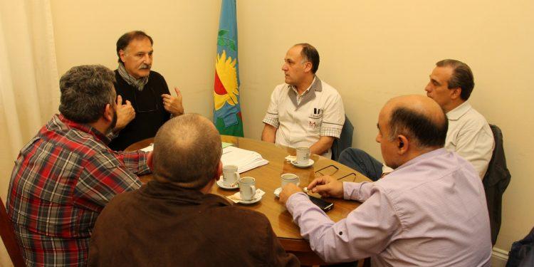 Municipio se reunió con la Cámara Pastoral