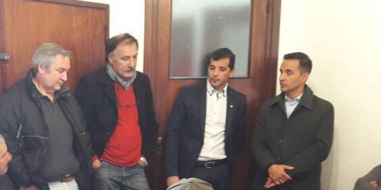 Funcionarios municipales se reunieron con vecinos de Lima por el tema de seguridad