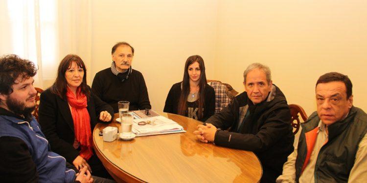 Más muestras de solidaridad con los trabajadores de Atucha: Cáffaro recibió a Palazzo