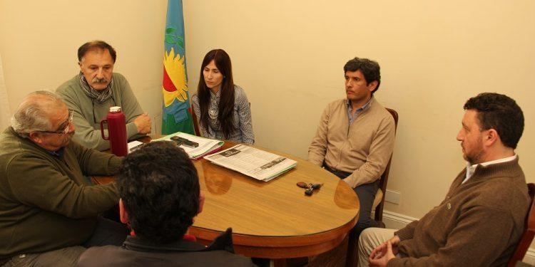 Municipio recibió a autoridades del Centro de Comercio e Industrias de Zárate