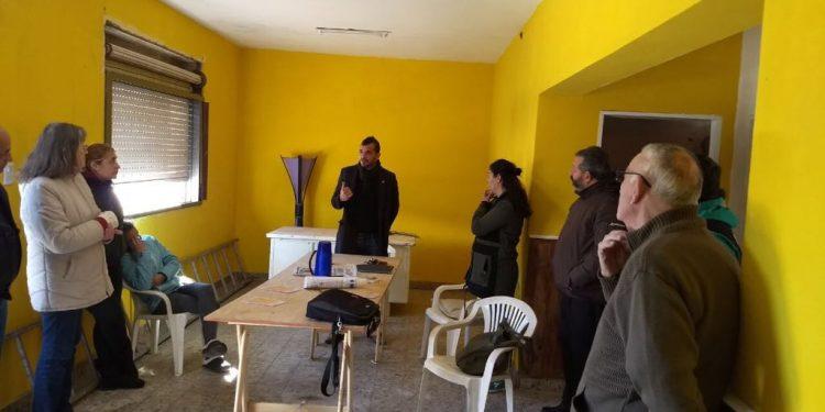 La Secretaría de Seguridad se reunió con vecinos de Villanueva