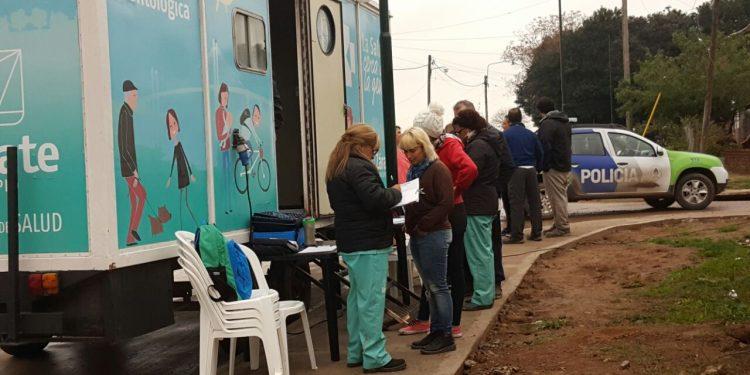 Salud Territorial trabaja en el barrio Villa Negri