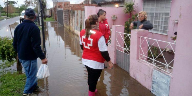 Municipio asistió a 20 familias por el temporal