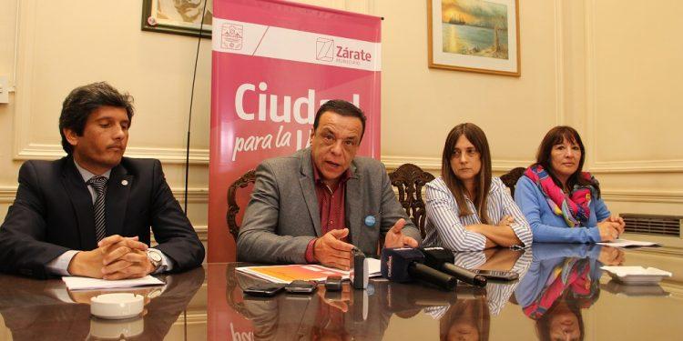 Cáffaro presentó el proyecto para crear Ente Municipal del Desarrollo Zárate