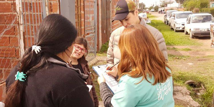 Salud Territorial continúa trabajando en María Auxiliadora