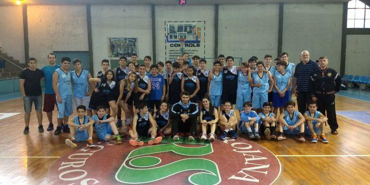 Nueva fecha del Torneo Basquet Para Todos con la presencia de Aranda