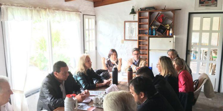 """""""Municipio en tu casa"""": Cáffaro y Tulia dialogan con vecinos"""