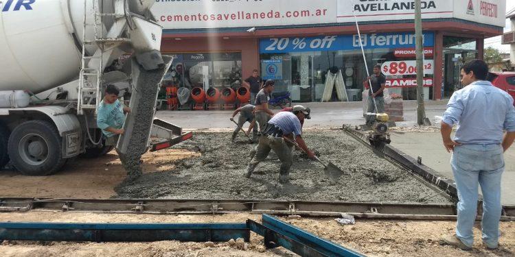 Avanzan las obras de infraestructura con recursos propios