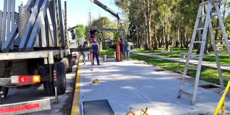 Obras y seguridad vial: Municipio remodela el área de servicios de la terminal de Lima