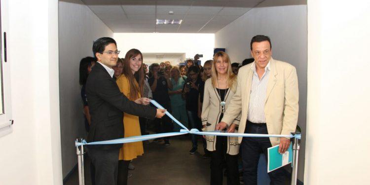 Cáffaro inauguró el módulo 4 del CGC