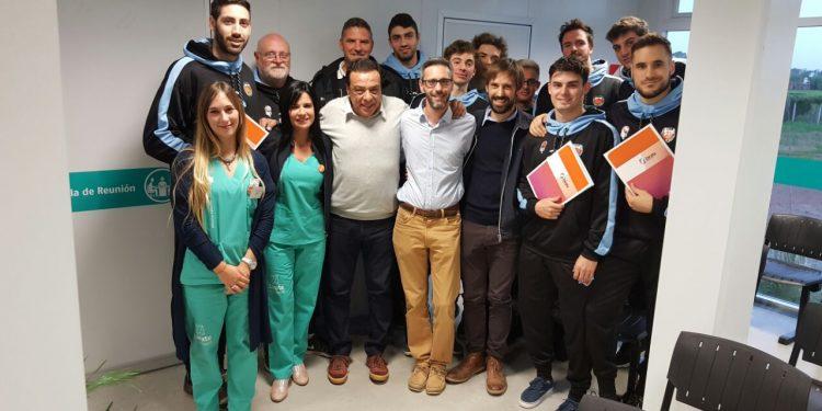 Cáffaro le entregó al equipo Zárate Basket los aptos médicos