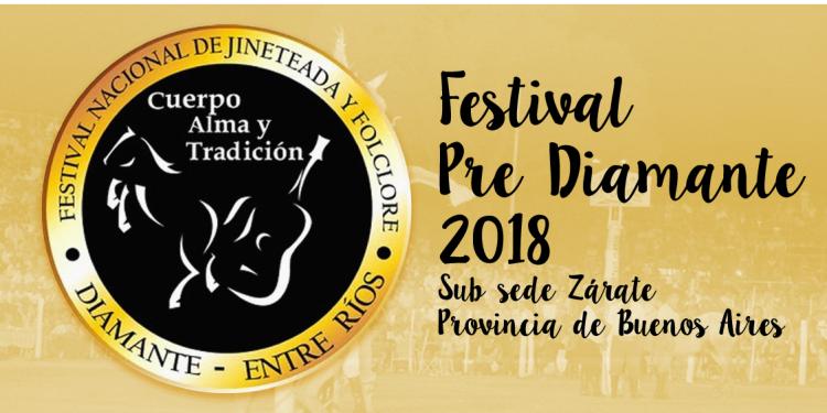 Zárate será sede del Festival Pre-Diamante