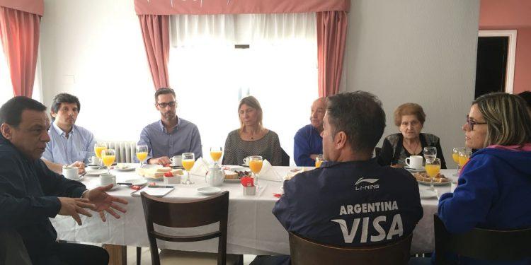 """Cáffaro y Tulia encabezaron otra jornada del programa """"El Municipio en tu casa"""""""