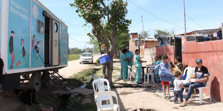 Salud Territorial trabajó en el barrio La Emilia
