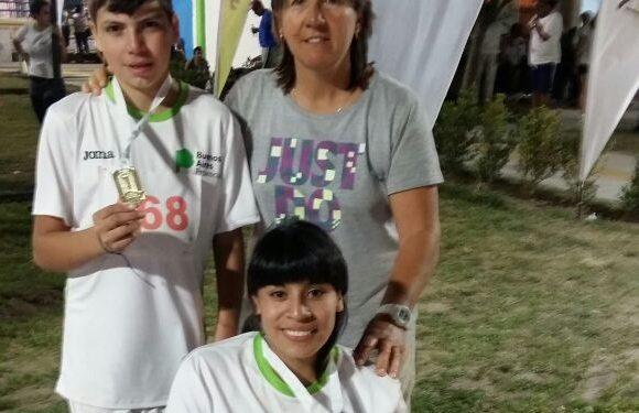 Medallas de oro para los atletas zarateños en los Juegos Evita