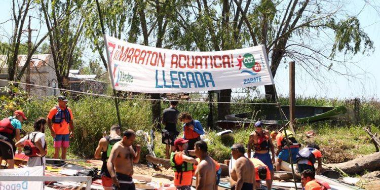 El Paseo de la Ribera fue una fiesta de los deportes acuáticos