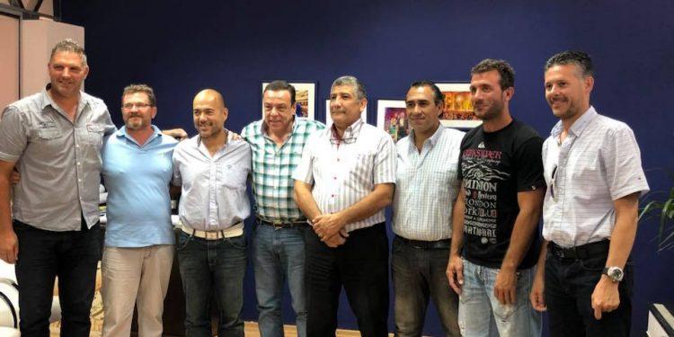 Cáffaro firmó un convenio con los clubes del programa Básquet Para Todos