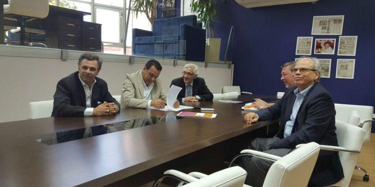 El Municipio firmó un convenio con el Parque Industrial y Logístico Paraná Las Palmas