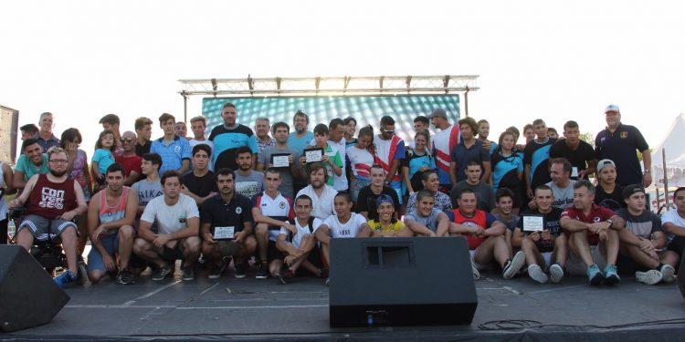 El Municipio becó y premió a sus mejores deportistas