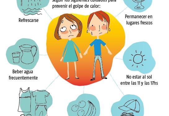 Ola de calor: recomendaciones de la Secretaría de Salud