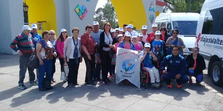 Delegación zarateña participó de Encuentro Recreativo por la Inclusión