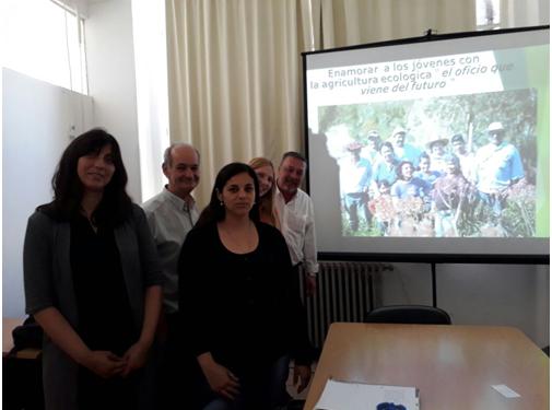 Funcionarios municipales conocieron proyectos de Economía Social de Rosario