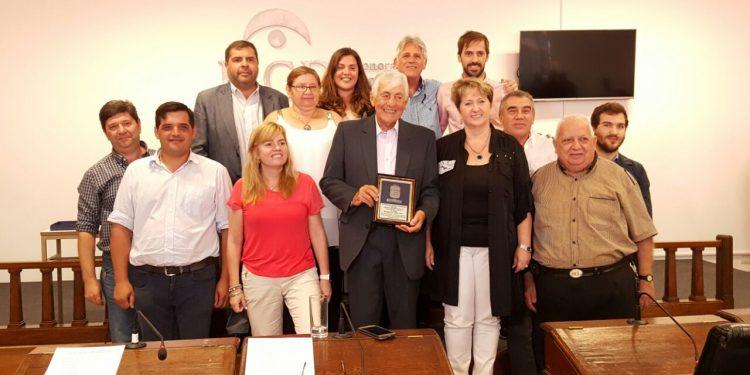 José Luis Marquine fue reconocido por el Concejo Deliberante
