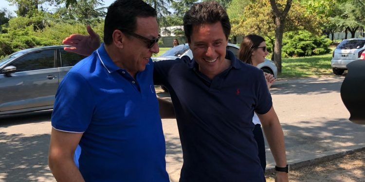 Cáffaro y Sánchez Zinny visitaron la colonia municipal de verano