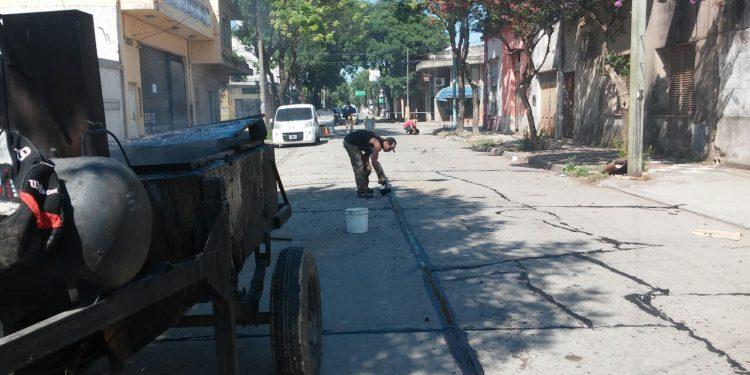 Servicios Públicos trabaja en el mantenimiento de calles