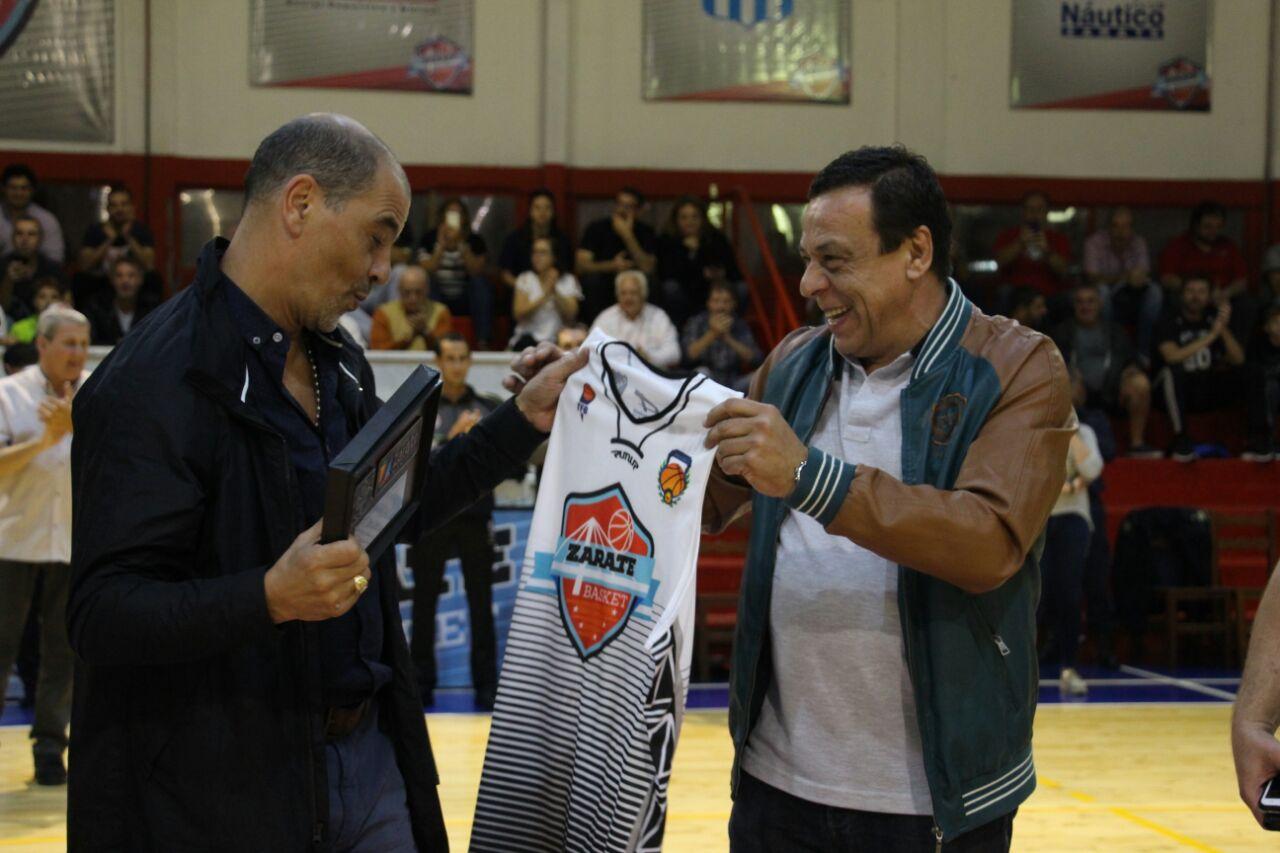 """Sergio Hernández: """"El proyecto de Zárate Basket es muy interesante"""""""