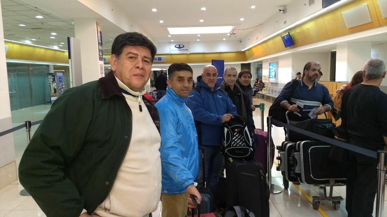 Los veteranos de guerra llegan a Malvinas