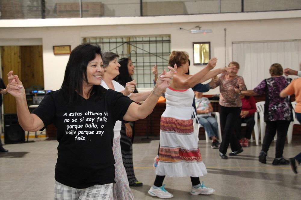 Comenzó el Taller de Danzas Folclóricas para Adultos Mayores