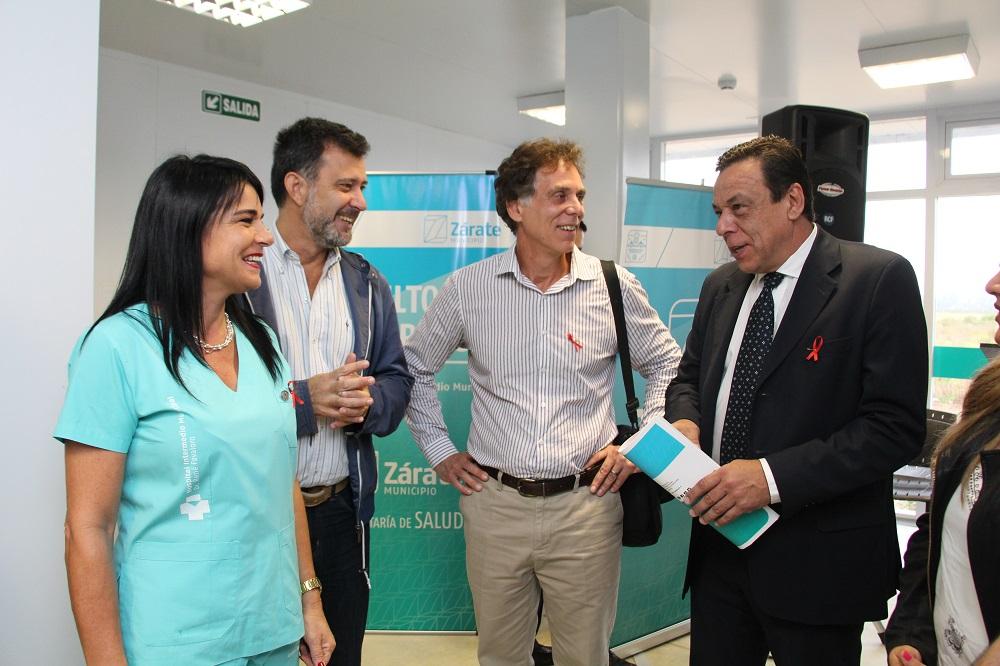 Presentaron el Test Rápido de VIH en el Hospital Intermedio Municipal
