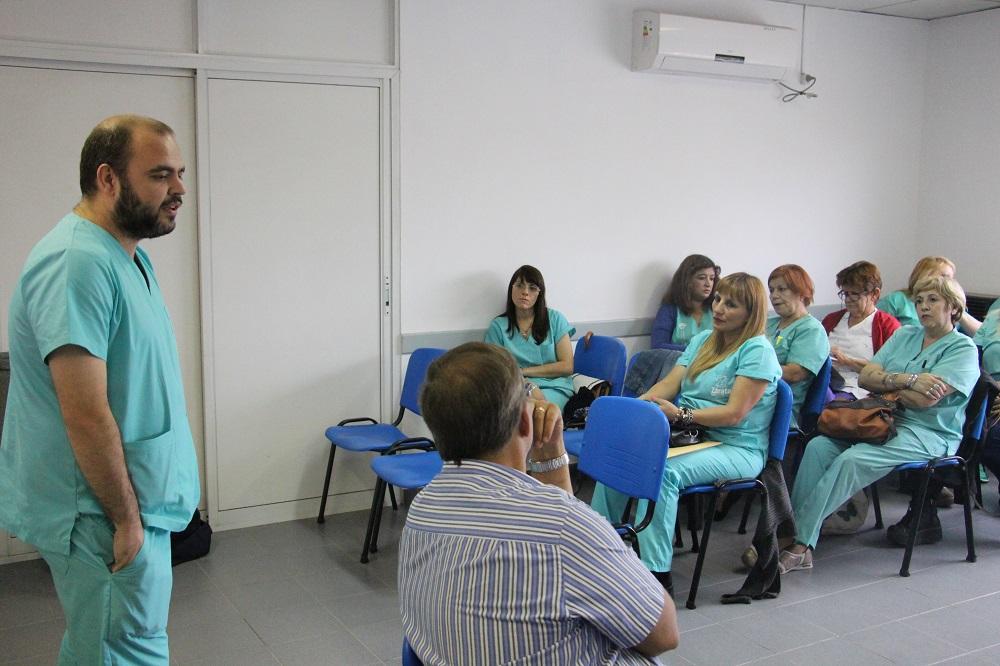 Se dictó capacitación para enfermeras en la Unidad Sanitaria San Martín de Porres