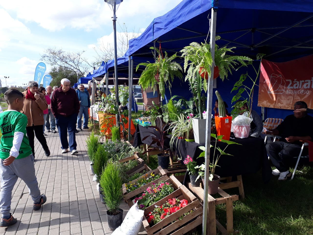 Se desarrolló la Fiesta del Huevo y la Verdura en el Parque Urbano