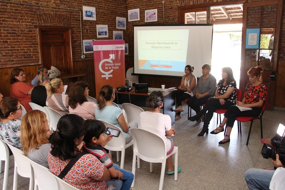 Se presentó el Consejo Local de la Mujer en Lima