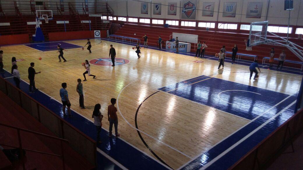 El Municipio continúa incentivando la práctica del básquet