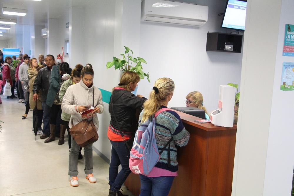 Salud entrega turnos en los Consultorios Externos