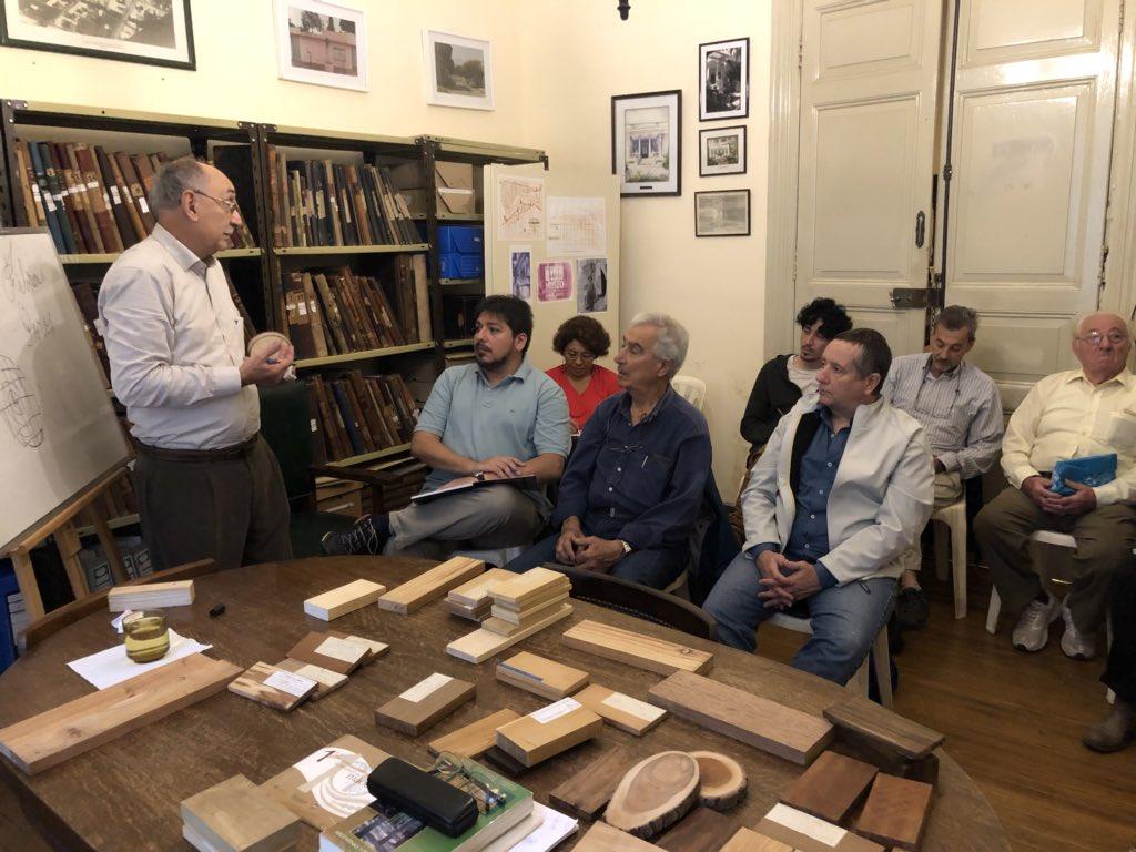 """Se dictó un curso sobre la madera en el Museo """"Quinta Jovita"""""""
