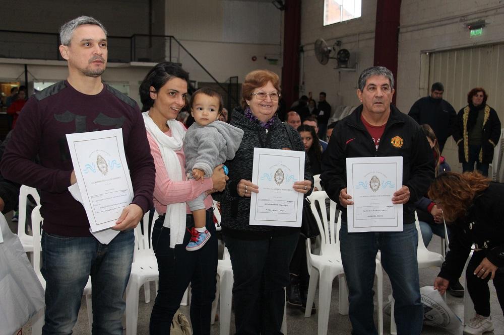 Se entregaron 174 escrituras a vecinos de Zárate y Lima