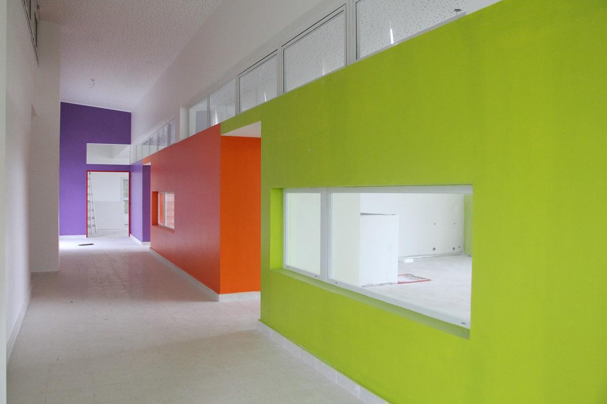 Ultiman detalles de obra para que la apertura del Jardín Maternal Público sea en el segundo semestre