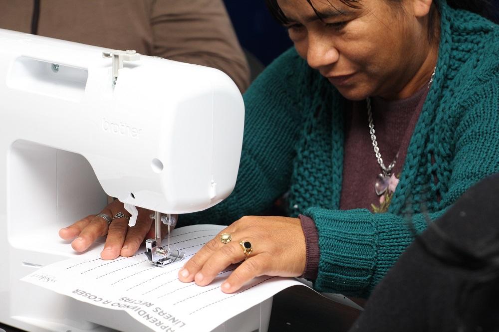 Presupuesto Participativo: Comenzó Taller de Costura