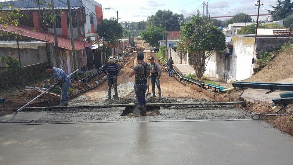 Comenzaron las obras de infraestructura en Villa Florida
