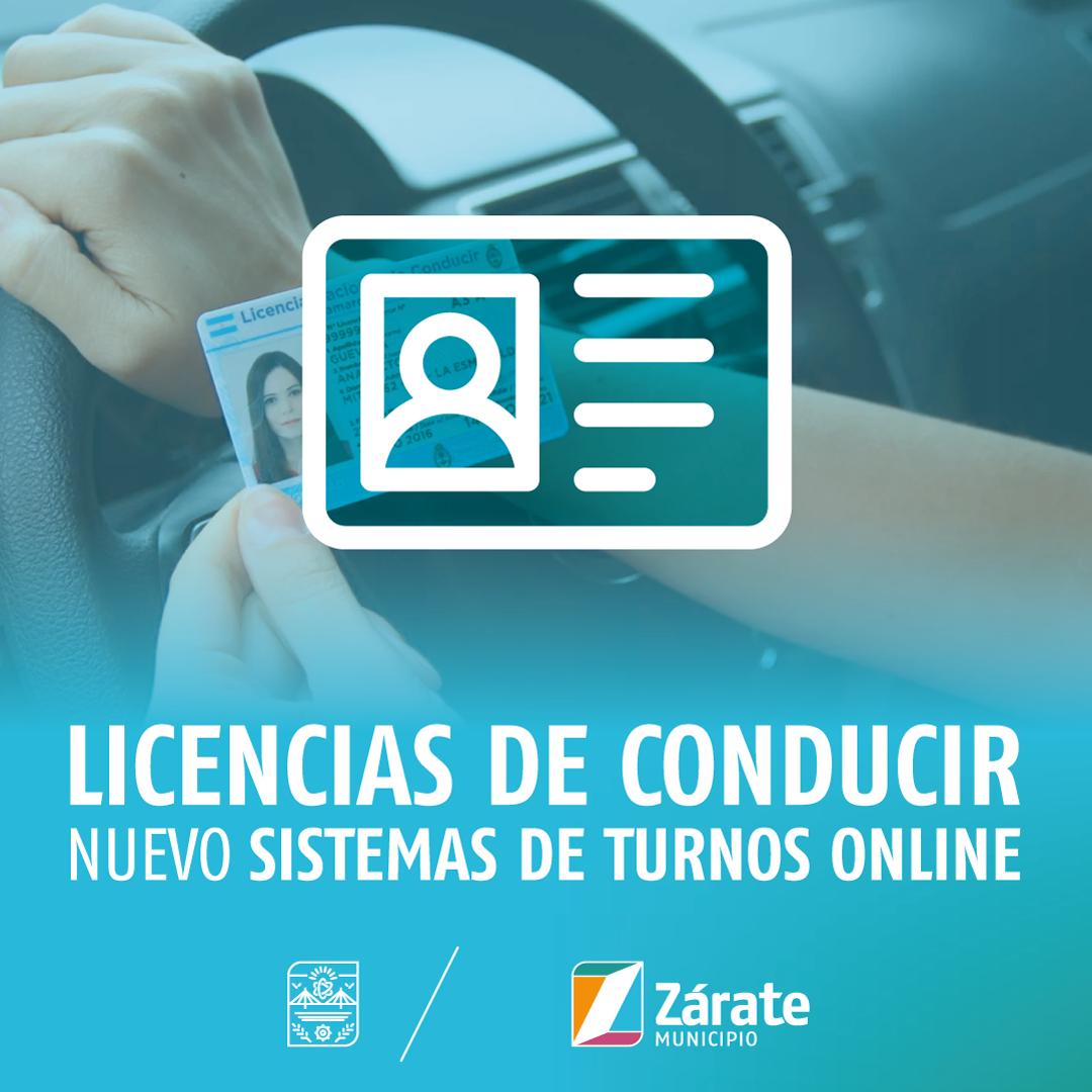 A partir de agosto, los turnos para las licencias se obtendrán desde la web oficial