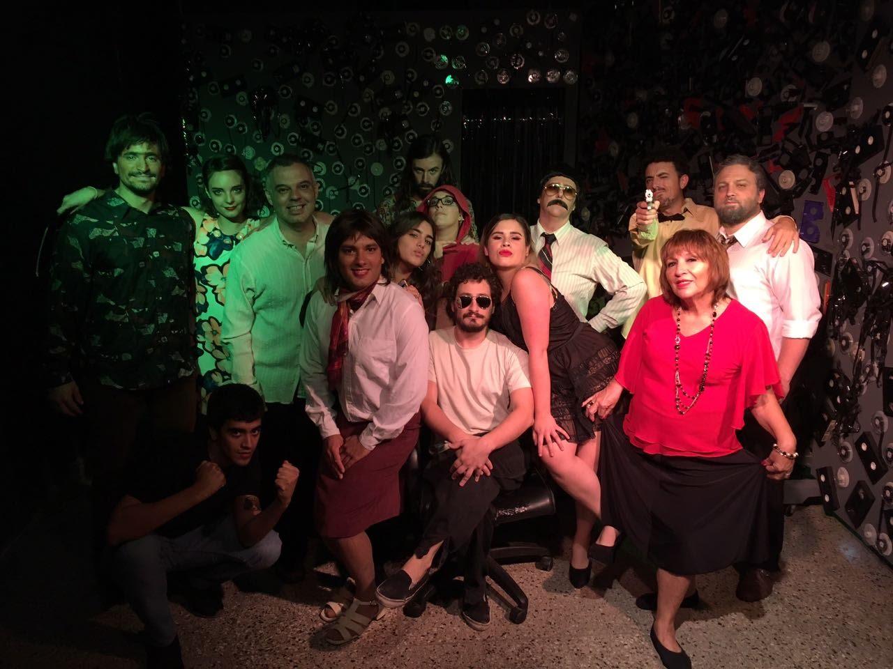 """""""Teledelt"""", teatro local en el Forum"""