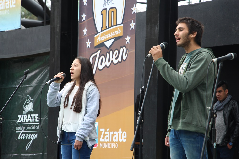 Se desarrolló la competencia de Canto y Kermesse del Costa Joven